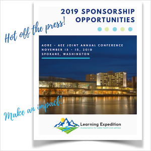 AORE AEE 2019 Sponsorship Opportunities